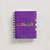 Custom Print Cover 8mm Single Line Ruled Professional Manufacturers for Spiral Notebook SN-31