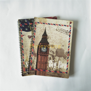Good Quality Single Line Printing Custom Design Spiral Notebook SN-4