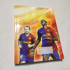 Seyes Rulling Football Player Soft Writing Offset Paper Glue Binding Notebook GBN-12