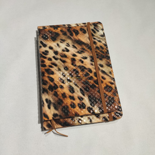 Good Quality Different Colors Custom Branded Hardcover PVC Leather Notebook PLN-02