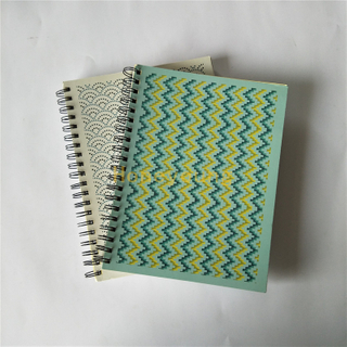 Softcover Materia Custom Design School Spiral Notebooks Wholesale with LOGO SN-9